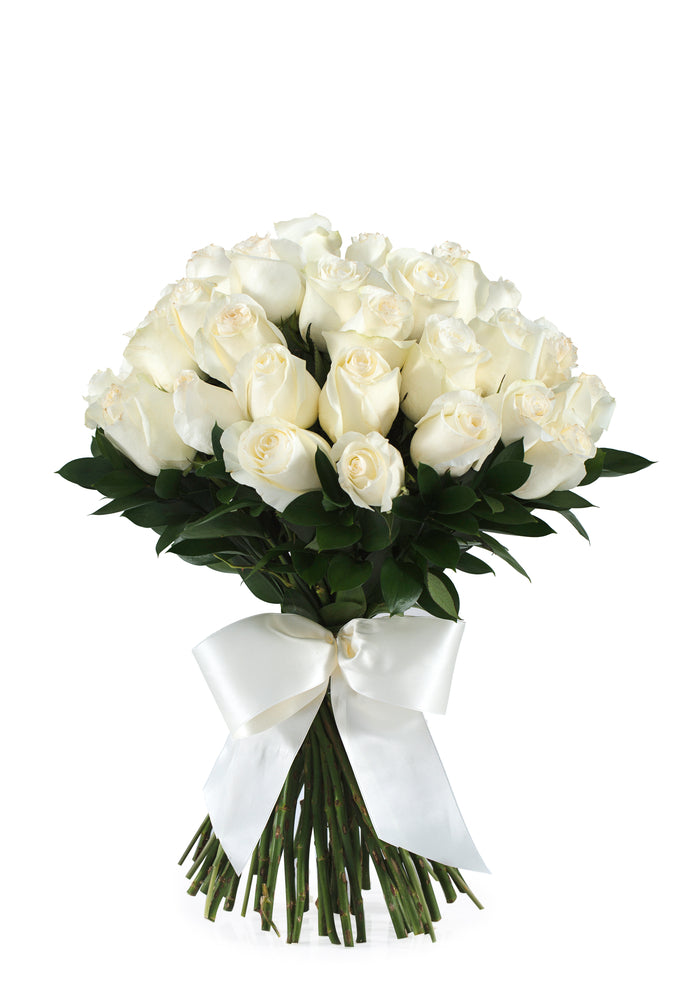 White Roses - 20 Stems