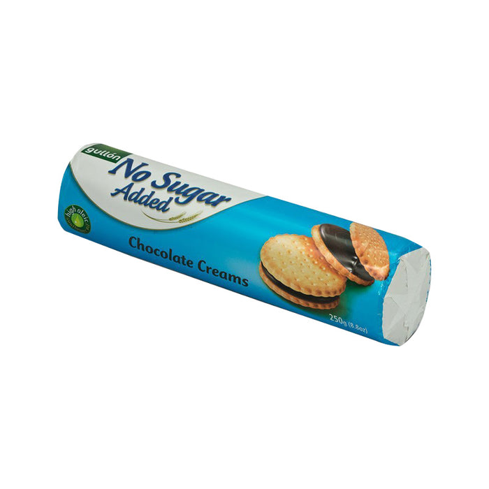 Gullon No Sugar Added - Chocolate Creams Biscuits 250g