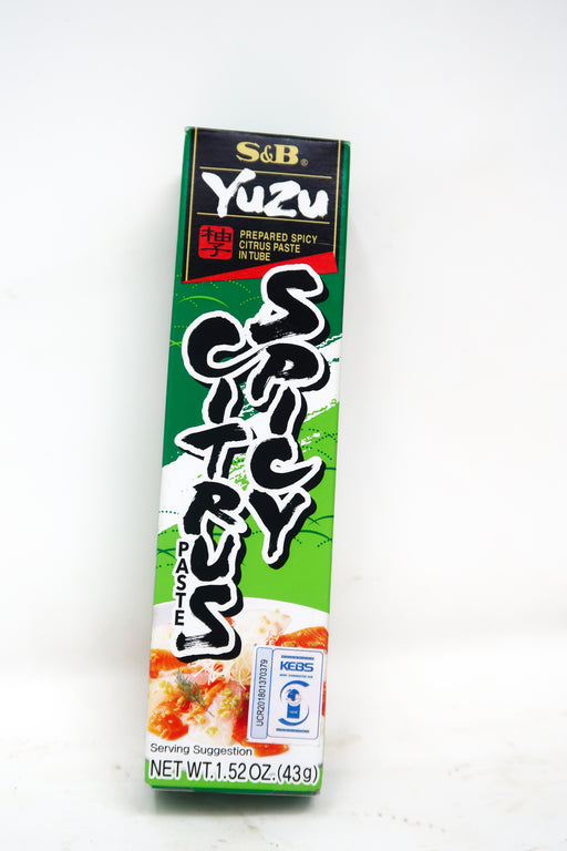 S&B Yuzu Spicy Citrus Paste