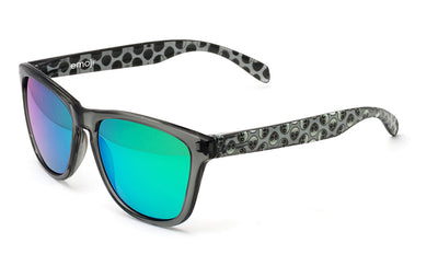 Bright alien green sunglasses by emoji®
