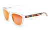 Bright total orange sunglasses by emoji®