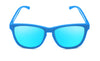Blue monkeys ice blue sunglasses by emoji®