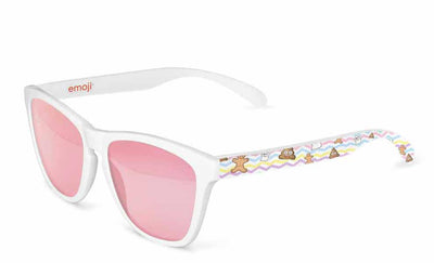"""SWEET OBJECTS PINK"" OFFICIAL EMOJI® SUNGLASSES FOR KIDS"