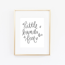 Little Hands & Feet Print