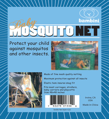 Play Pen &  Stroller Mosquito Net
