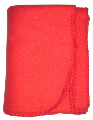Blank Red Polarfleece Blanket