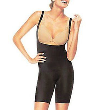 Women's Mid-Thigh Body Shaper Black Style #1647P