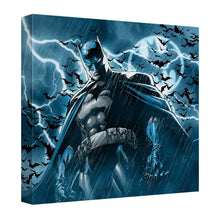 Batman - Stormy Knight Canvas Wall Art With Back Board