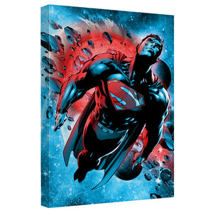 Superman - Super Cosmos Canvas Wall Art With Back Board