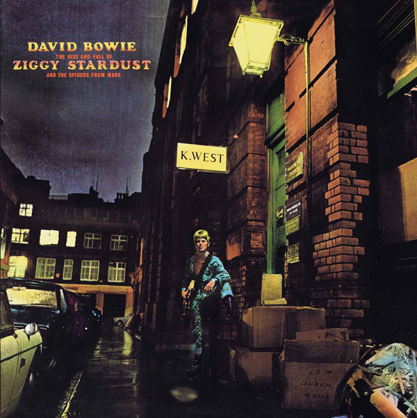 THE RISE AND FALL OF ZIGGY STARDUST AND
