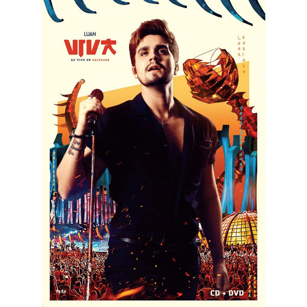 VIVA - AO VIVO EM SALVADOR- KIT CD + DVD