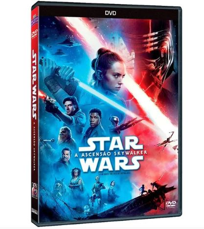 STAR WARS: A ASCENSÃO SKYWALKER [DVD]
