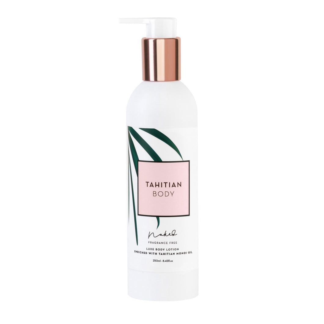Luxe Body Lotion - Naked (Fragrance Free) 250ml / 8Fl. Oz
