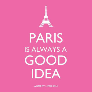 Paris is Always Beverage Napkin (min.12)
