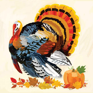 Martha's Turkey Beverage Napkins