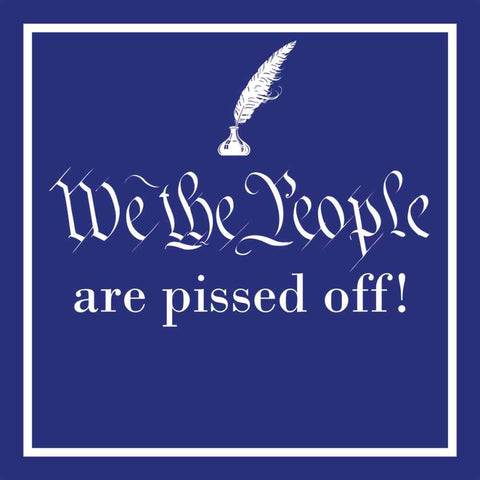 We The People Beverage Napkins