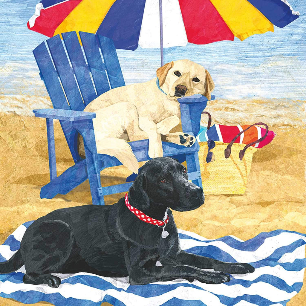 Dog Days of Summer Beverage Napkin