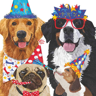 Party Pooches Beverage Napkin