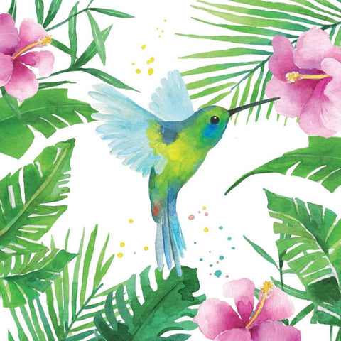 Tropical Hummingbird Napkins