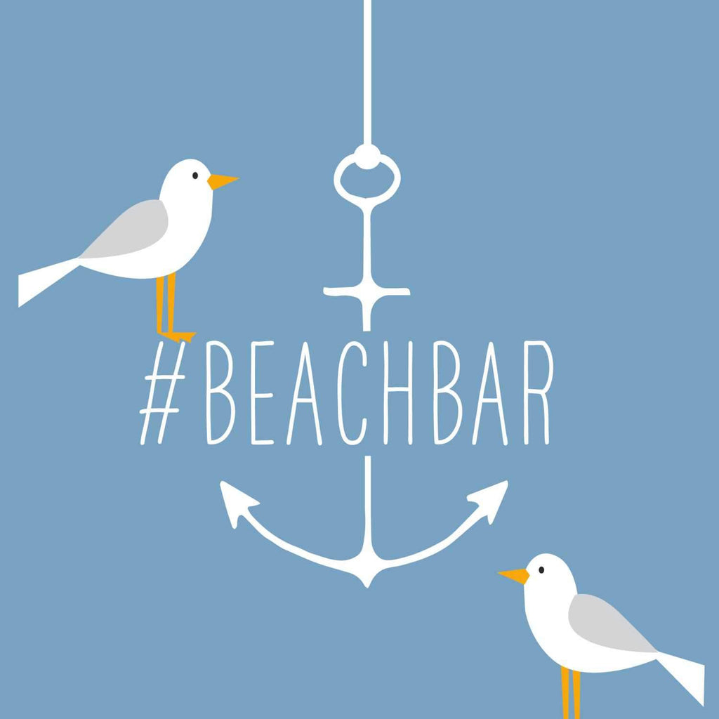 Beach Bar Lunch Napkin