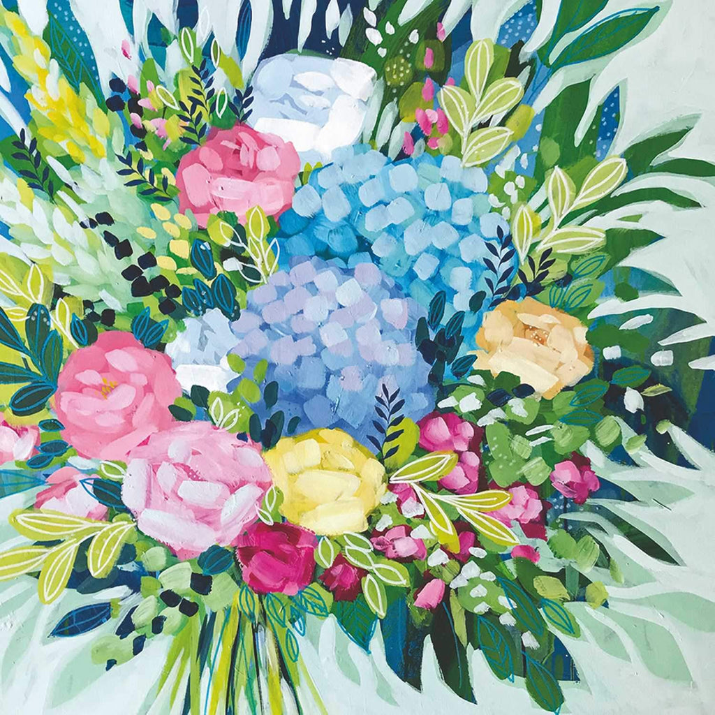 Royal Bouquet Lunch Napkin