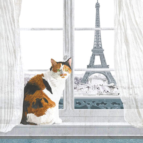 Madeleine à Paris Lunch Napkin
