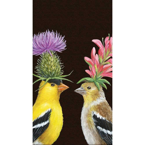 Goldfinch Couple Guest Towel