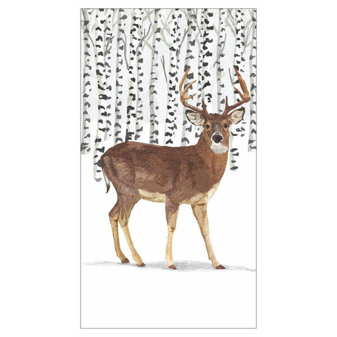 Wilderness Stag Guest Towel