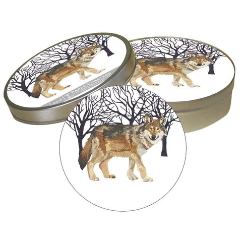Winter Wolf Coaster Set (min.6)