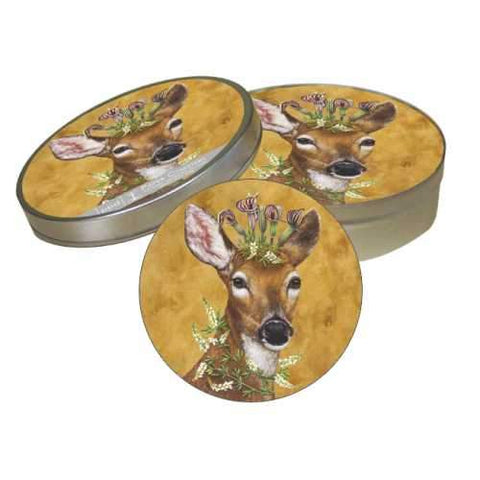 Woodland Princess Coaster Set