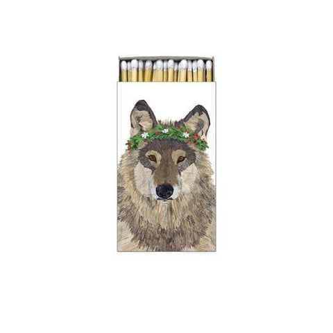 Glacier Wolf Decorative Matches