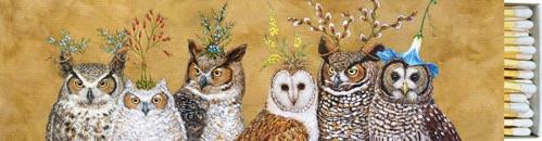 Owl Family Long Matches