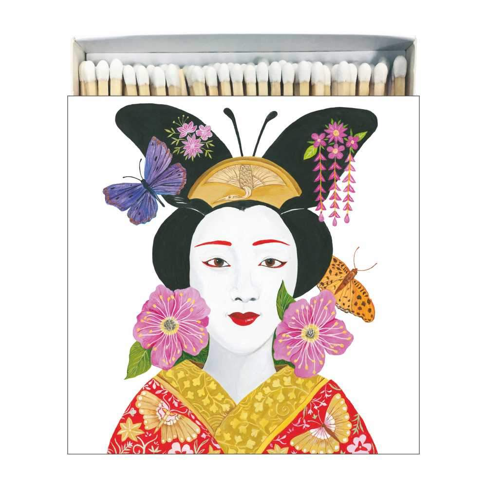 Madame Butterfly Matches Square Box Matches