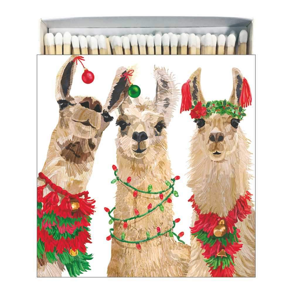 Merry Llamas Matches, Square
