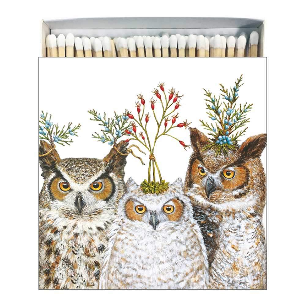 Holiday Hoot Matches, Square