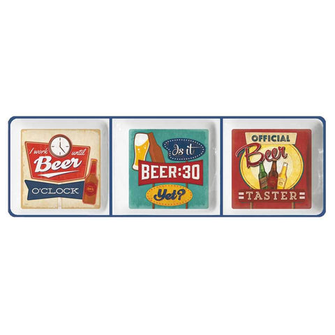 Beer Gift Boxed Snack Tray (min.4)