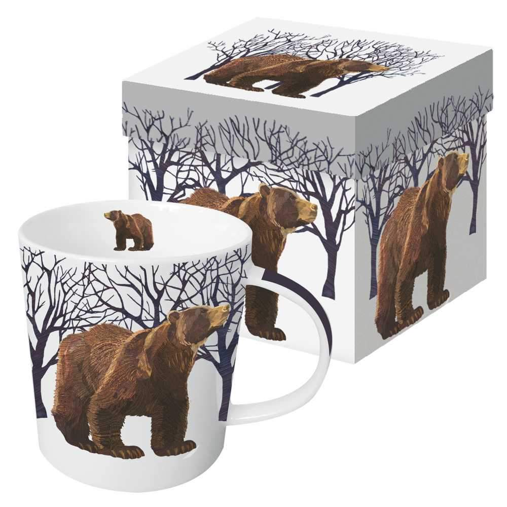 Winter Bear Gift Boxed Mug (min.6)