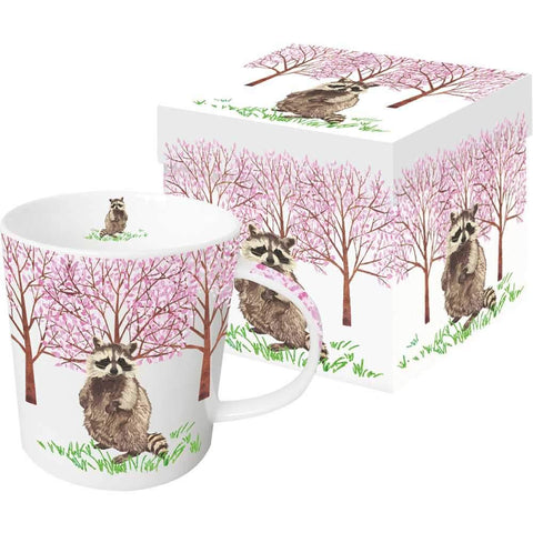 Hyde Park Raccoon Gift Boxed Mug