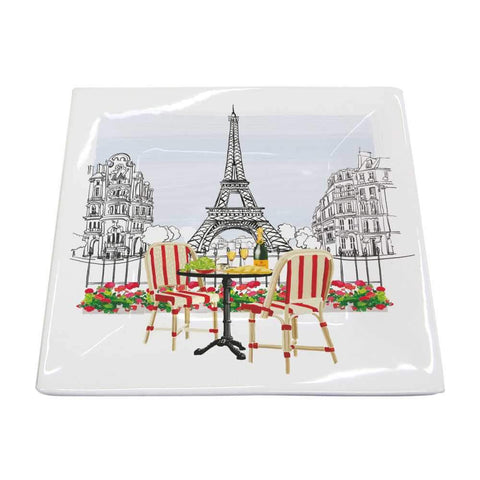 Bistro de Paris Square Plate, Small