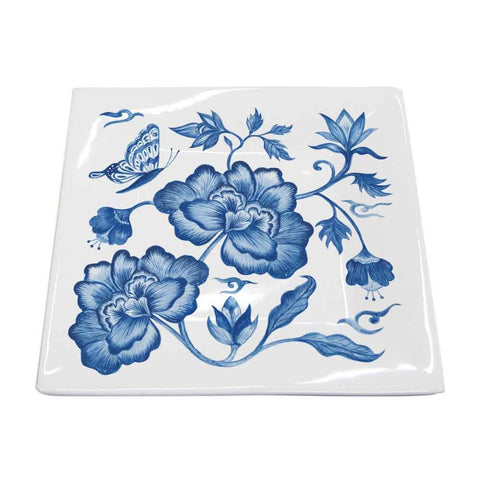 Princess' Peony Square Plate, Small