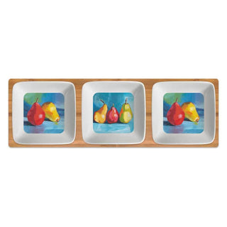 Pear Musée Dipping Dish Set