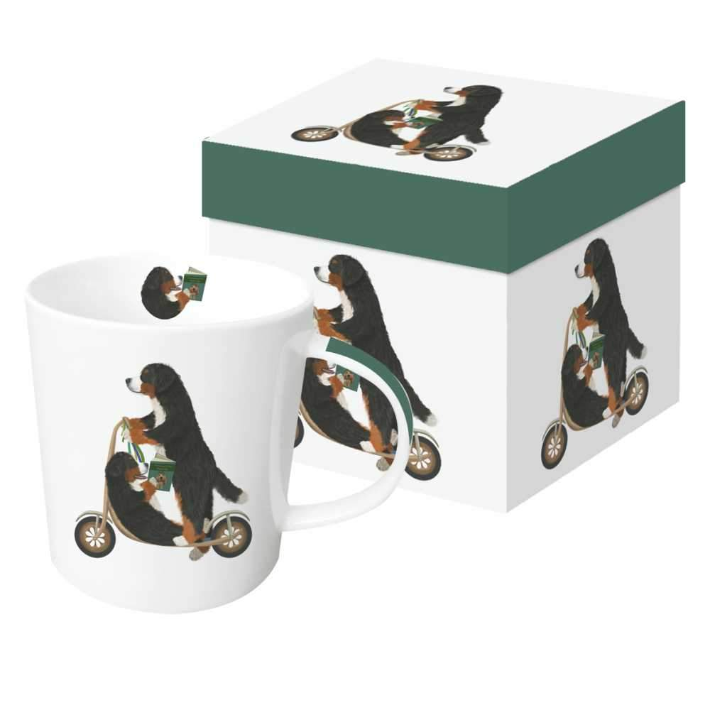 Scooter Dogs: Bernese Gift-Boxed Mug