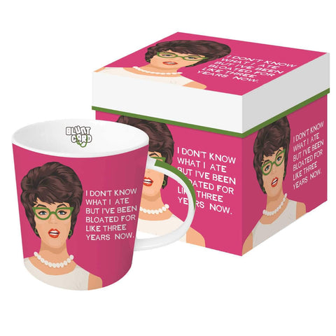 Bloated Gift-Boxed Mug