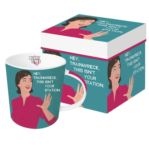 Hey Trainwreck Gift-Boxed Mug