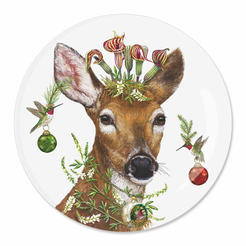Christmas Princess Appetizer Plate