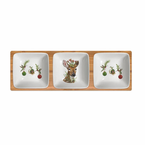 Christmas Princess Dipping Dish Set