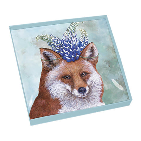 Beatrice Gift-Boxed Square Glass Plate