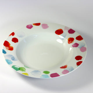 WATERCOLORS Soup Bowl (min.6)