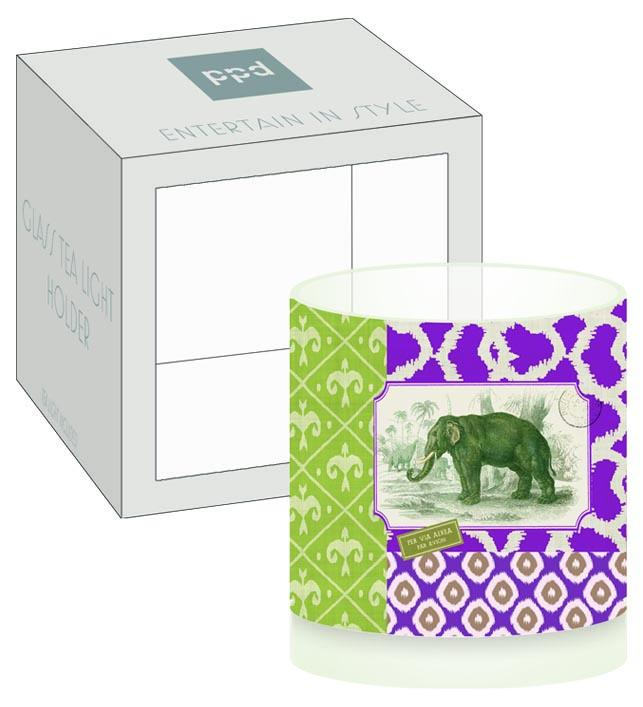 Jaipur Boxed Tea Light Holder (min.6)