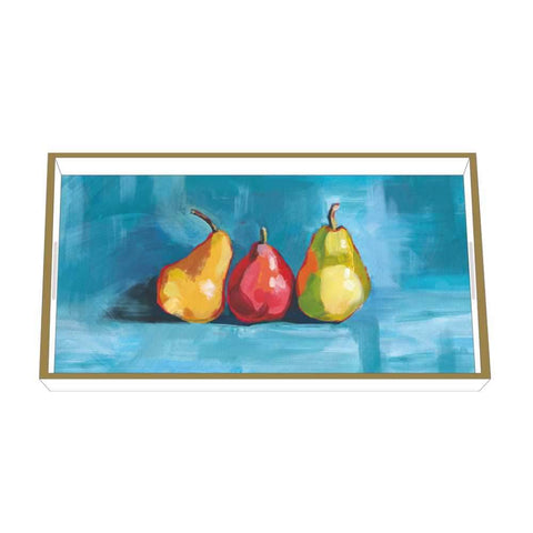 Pear Musée Wood-Lacquered Vanity Tray